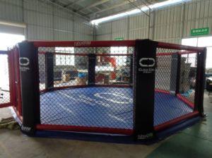Gabbia dell'ottagono del professionista di randello di combattimento MMA