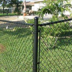 Eslabón de cadena de cable recubierto de polvo de la piscina valla tela