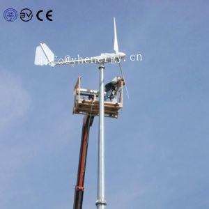 격자 바람 터빈 3kw 바람 발전기 또는 풍력 에너지 떨어져 소형
