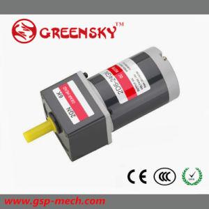 GS de 12V/24V 6W motor DC de 60mm