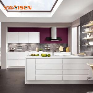 Möbel-Küche-neue Modularbauweise glühen Farbanstrich-Küche-Schränke