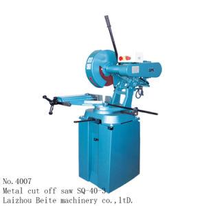 Sq-40-3 400mm portátil de lâmina de serra de corte / Serra Circular/metal cortado viu /Mitre viu /viu robotizada