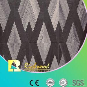 12.3mm gaufré commerciale V-planchers laminés absorbant le son rainuré