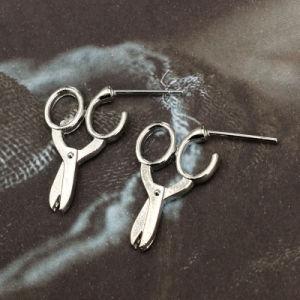Forbici degli orecchini semplici di personalità piccole