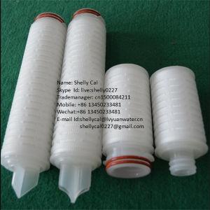0,2 mícron de PTFE com pregas do filtro de cartucho para alojamento do filtro