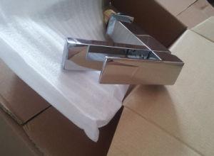 単一のレバーの真鍮の正方形の洗面器のコックのクロム終わり(YQ-J50)