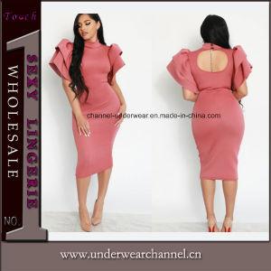 Las mujeres de alta calidad Parte de la moda mini vestido de cóctel de la PROM (23.26)