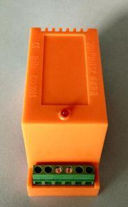 レール敷35mm DINの4-20mA 0-5VのコンバーターへのPT100