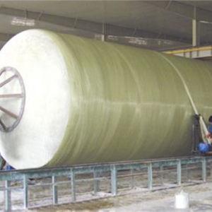 Tubi sotterranei anticorrosivi della vetroresina FRP GRP