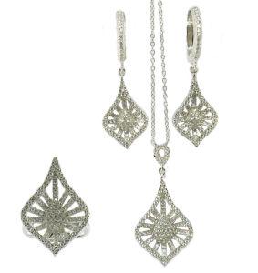 Meilleur Prix bijoux Set avec Hoop Earring anneau pour la mode (S3379)