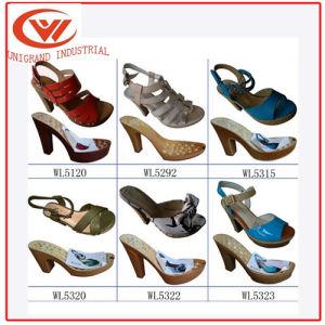 Les femmes sandales haut talon unique semelle PU pour dame chaussures sandales