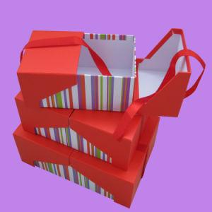 ギフトチョコレート包装紙ボックス