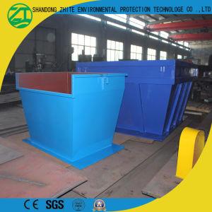 Eje individual/doble eje trituradora de plástico de gran diámetro/HDPE tubería de PVC