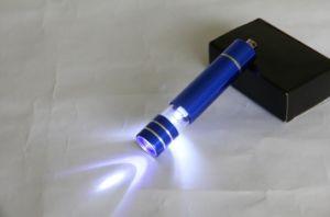 Het promotie Nieuwe Creatieve LEIDENE van Giften Licht van Keychain met Sleutelring