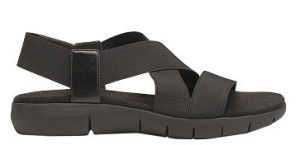 Construction Faux Leather Open Toe Sport Sandals에 당기십시오