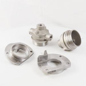Getto e parti d'acciaio lavorate CNC