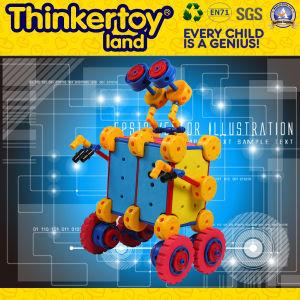 Ferramentas educacionais criativos bloco de construção plástica brinquedo para criança