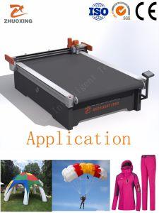 織物Airdancers Beachflag、熱気の気球の打抜き機またはCNCデジタルの切断装置のセリウムのカッタープロッター工場価格