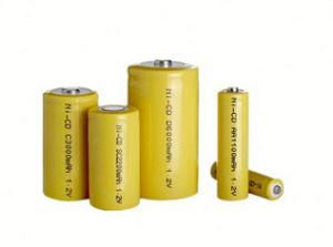 batteria Ni-CD di 1.2V 2/3AAA 200mAh