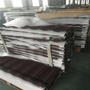 Les matériaux de construction, le métal de couleur tuile de toit de pierre Making Machine
