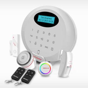 Sistema di allarme senza fili di obbligazione domestica di Wolfguard GSM RFID con il APP e RFID