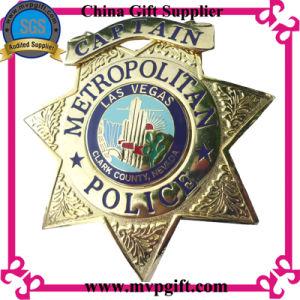 Distintivo del metallo con uso del distintivo della polizia di marchi del cliente 2D/3D (m-pb001)