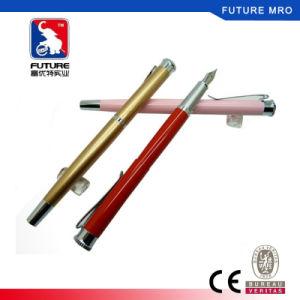 Logotipo personalizado rodillo metálico bolígrafo para la firma