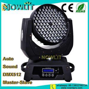 LEDの段階108PCS 3W RGBWの移動ヘッド洗浄ライト
