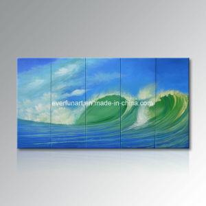 Hot Sale De Lhuile Sur Toile Peinture Moderne Seascape Bureau Dart