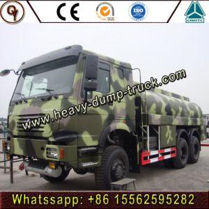 HOWO 6X6すべての車輪駆動機構336HPオイルの輸送のタンク車