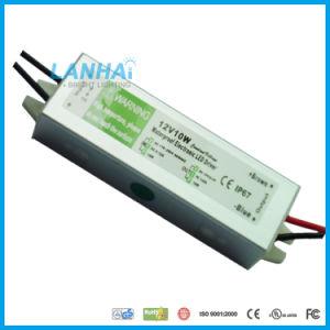 12V 10W fuente de alimentación Impermeable IP67 para la TIRA DE LEDS para cámaras CCTV