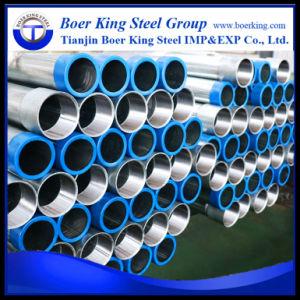 Tubo d'acciaio tuffato caldo di Gi BS1387 con l'accoppiamento e protezione sulla vendita