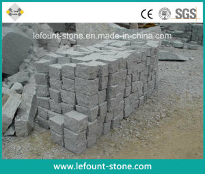 G603 Cubes en granit gris clair/briques/cubes de pierre de galets ...