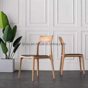 Venda por grosso de Jantar cadeira de madeira moderna cozinha Accent cadeira de madeira sólida móveis domésticos