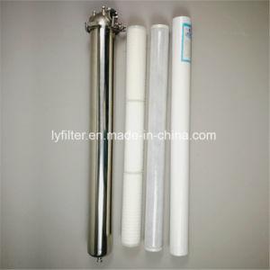 Один раунд картридж из нержавеющей стали для корпуса фильтра pвсе санитарные жидкости/вино и пиво фильтрации