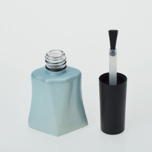 Nouveau design clair vide bouteille en verre avec bouchons de brosse