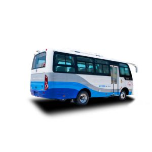 6.6meter 23シートの星の双生児のドアのCitybusのミニバスのディーゼルバス