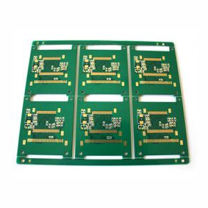 4 Camadas Fr4 Elevador Enig PCB com superfície de ouro de Produtos Químicos