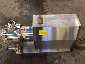 En acier inoxydable pour la pompe de cisaillement de yogourt Inline Agent émulsifiant Industrie alimentaire
