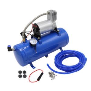 Inflador de neumáticos de coche portátil 12V de la bomba del compresor de aire pesado