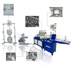 Papel de pintura azul automática máquina de Palha