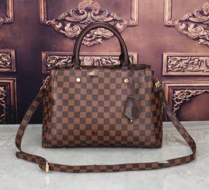 El Diseñador de lujo en cuero genuino señoras LV Bolso Bolso bolsos