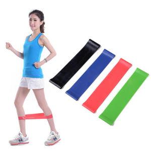 4 PCS o exercício resistido Band Home Ginásio esticar a perna de ioga Fitness do Braço