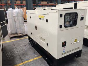 パーキンズイギリスのエンジンCe/CIQ/Soncap/ISOを搭載する74kw/93kVA極度の無声ディーゼル発電機