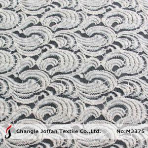 Garment (M3375)のための2015高品質Nylon Cotton Lace Fabric
