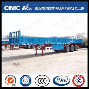 Heißes Cimc Huajun 3axle Cargo/Fence Trailer mit Side Wall