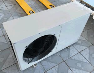 Consumo de água de ar para bombas de calor