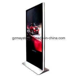 LED permanent de la publicité de 42 pouces écran numérique de conception de kiosque