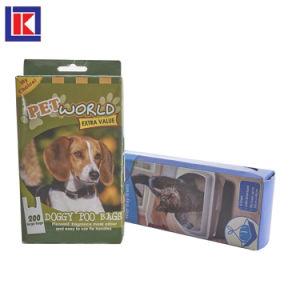 귀여운 최신 판매 주문 인쇄된 생물 분해성 애완 동물 낭비 부대