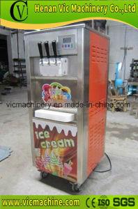 BL-818最上質およびセリウムが付いているソフトクリーム機械